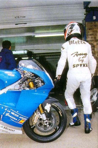 Con la ROC Yamaha durante el Mundial de 1993
